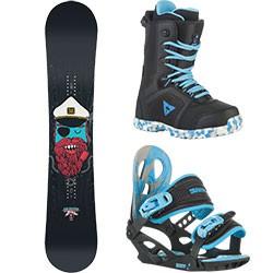 Dětský snowboard komplet