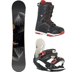 Gravity snowboard komplet