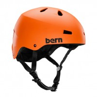 Bern Macon H2O matte orange
