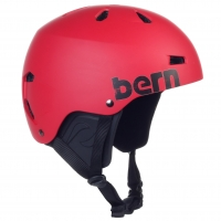 Bern Macon H2O matte red