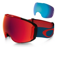 Oakley Airbrake Xl red legion blue