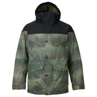 Burton Frontier true black/oil camo
