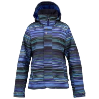Burton Jet Set cornflower high tide stripe