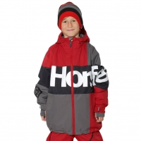 Horsefeathers Haris Kids red