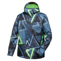 Quiksilver Mission Printed Insulated snowsooner moroccan blue