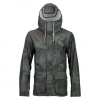 Burton Boroughs Parka beetle derby camo