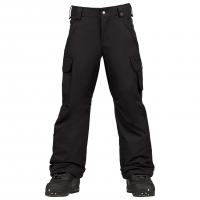 Burton Boys Exile Cargo true black
