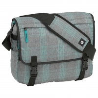 Burton Synth Messenger misty tidal plaid