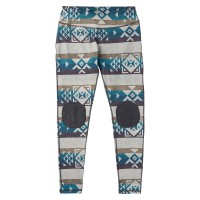 Burton Wms Expedition Wool Pant stout white banded geo