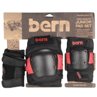 Bern Junior Pad Set red