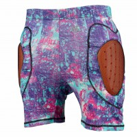 Burton Womens Total Impact Short sorcerer pretty oops