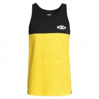 DC Rd Format 2 Tank rd leather prnt/yellow