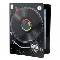 Dedicated Turntable Ipad Book black
