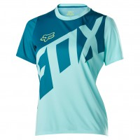 Fox Womens Ripley Ss Jersey ice blue