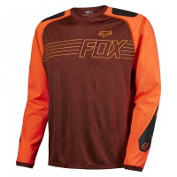 Fox Explore LS Jersey rust
