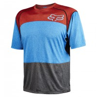 Fox Indicator Ss Jersey heather blue