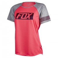 Fox Wms Ripley Ss Jersey neo red