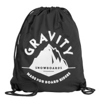 Gravity Peak Cinch Bag black