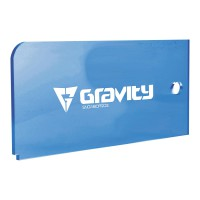 Gravity Wax Scraper blue/white