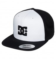 DC Snappy white/black