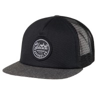 Globe Expedition Trucker black/herringbone