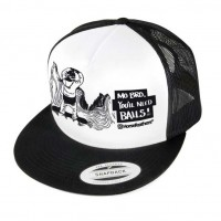 Horsefeathers Balls Trucker black/white