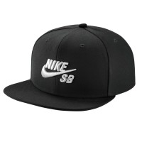 Nike SB Icon Snapback black/white