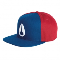 Nixon Deep Down Starter Hat royal/red
