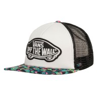 Vans Beach Girl Trucker floral mix black/turquoise