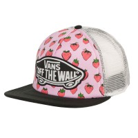 Vans Beach Girl Trucker strawberries pastel lavender/wht