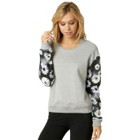 Fox Wild One Pullover heather grey