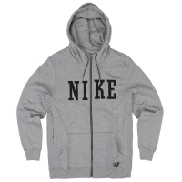 Nike Action Northrup Heritage Fz Hoodie carbon heather/black