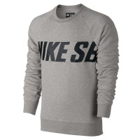 Nike SB Everett Motion Crew dk grey heather/black