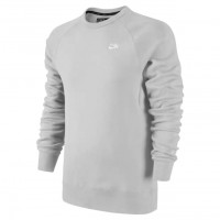 Nike SB Icon Crew Fleece dk grey heather/white