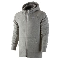 Nike SB Icon Full-Zip dk grey heather/white