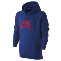 Nike SB Icon Grip Tape Pullover deep royal blue/gym red