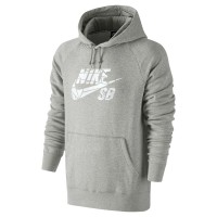 Nike SB Icon Grip Tape Pullover dk grey heather/white