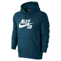 Nike SB Icon Pullover Fleece blue force/white