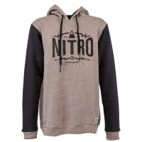 Nitro Triumph Hoody brown heather