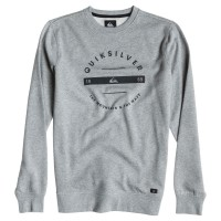 Quiksilver Challenge Crew Neck light grey heather