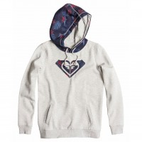 Roxy Cozy Fleece heritage heather