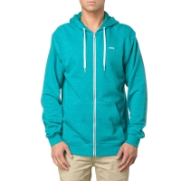 Vans Core Basics Zip Hoodie blue atol/new teal heather
