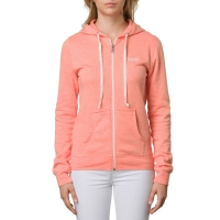 Vans Link Zip-Up Hoodie fusion coral heather