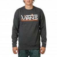 Vans Nintendo Mario Crew charcoal heather