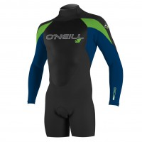 O'Neill Epic 2Mm L/s Spring black/deepsea/dayglo