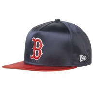 New Era Boston Red Sox 9Fifty Team Satin navy/red