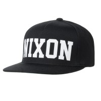 Nixon Billboard Snap Back black