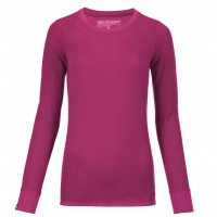Ortovox Merino Supersoft Long Sleeve Wms dark very berry