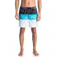 Quiksilver Word Waves Volley 17 blue danube