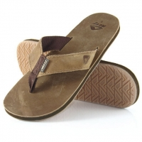 Reef Reef Leather Smoothy bronze brown